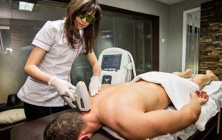 Tratament Epilare Definitiva cu Laser la barbati, zona cefei