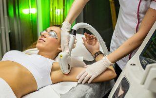 Tratament Epilare Definitiva cu Laser la femei, zona axilelor