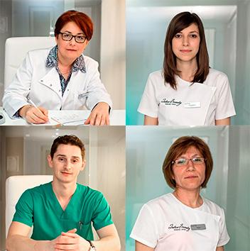 Echipa medici si esteticieni InterBeauty